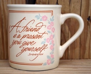 friend coffee mug